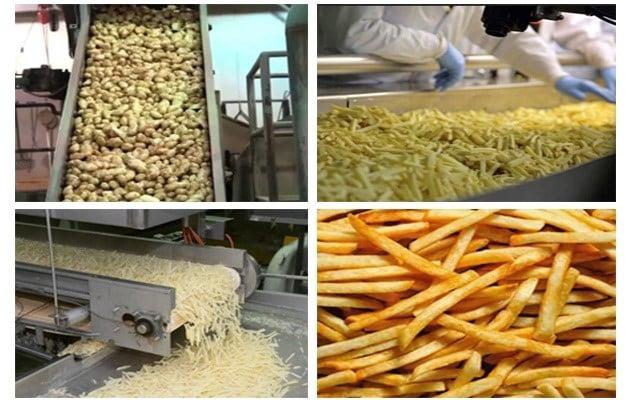 طرح توجیهی تولید سیب زمینی نیمه آماده